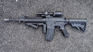 Here's a quick overview and shooting test of a custom tippmann m4. If you enjoyed the video, please leave a like and subscribe. facebook.com/planetairsoftoff...
