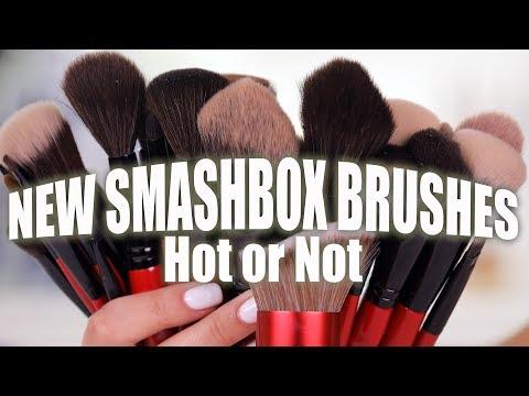 NEW SMASHBOX MAKEUP BRUSHES | Hot or Not