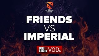 Friends vs Imperial, D2CL, game 1
