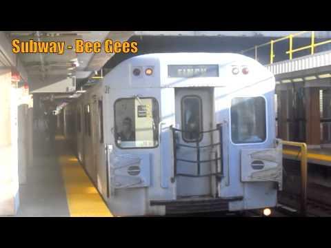 Tekst piosenki Bee Gees - Subway po polsku