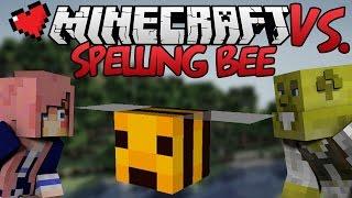 Spelling Bee Challenge | Minecraft VS. Ep 14