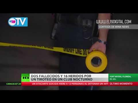 Tiroteo masivo en club nocturno en Florida: 2 muertos, 17 heridos