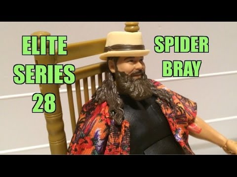 WWE ACTION INSIDER: Bray WYATT Elite series 28 Wrestling Figure Toy w/ Hat Shirt