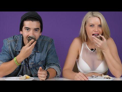 A片女星用牡蠣向男生傳授「怎麼幫女生口愛的最讚方法」,從沒想過看人吃牡蠣也能這麼臉紅心跳啦!
