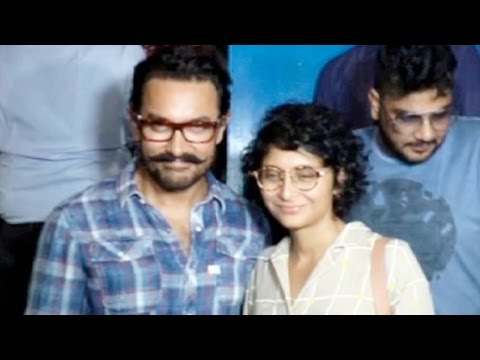 Aamir Khan Snapped On A Dinner Date With Wife Kira