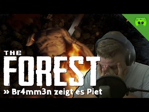 THE FOREST # 14 - Br4mm3n zeigt es Piet «» Let's Play The Forest | HD
