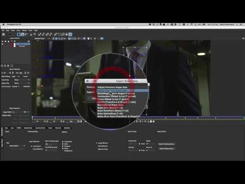 Tutorial  Mocha Masking for Adobe Premiere Pro