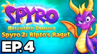 Spyro 2: Ripto's Rage Ep.4 - HURRICOS, ELECTROLLS!!! (Reignited Trilogy Gameplay / Let's Play)