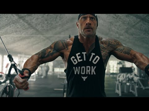Dwayne Johnson: All Day Hustle. Project Rock | Under Armour Campaign