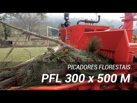 Picador Florestal PFL 300 x 500 M picado troncos de podas