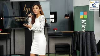 Stacey Gan, HP Market Development Manager (Consumer Notebook), then gave a presentation on the new features of the 2017 HP Spectre x360 with the HP Active Pen. Read more @ http://www.techarp.com/events/2017-hp-spectre-x360-active-pen-revealed/Tech ARP  www.techarp.com  forums.techarp.com