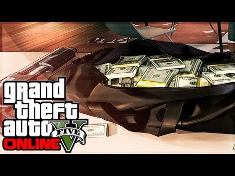 GTA 5 Online FREE MONEY $650k In GTA Online PS4 Gameplay (Preorder Bonus)