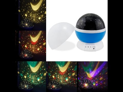 Perline ESUMIC® Sole E di notte della stella della lampada di illuminazione 4 LED