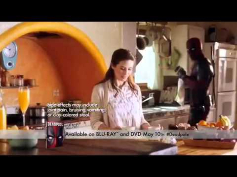 Deadpool Blu-ray Release Commercial 2016