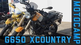 5. BMW G650X Country - Initial Impressions/Mini Review