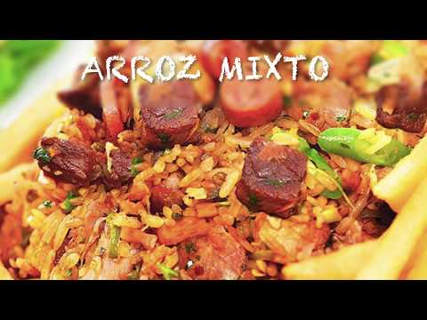 ARROZ MIXTO CON COSTILLA