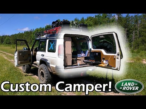 Land Rover Camper × My