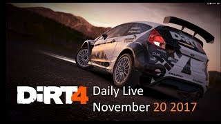 DiRT4【PC】Daily Live November 20 2017