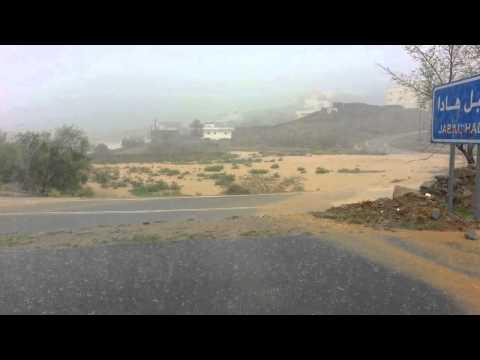 أمطار ظهيرة يوم السبت | 25 رمضان 1434 هـ | فرشاط