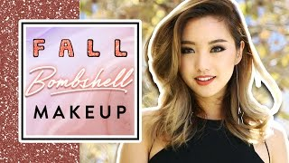 Fall Bombshell Makeup by Clothes Encounters