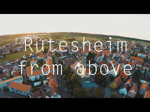 Rutesheim from above I 4K