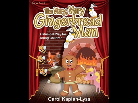 The Very Very Gingerbread Man - Carol Kaplan-Lyss