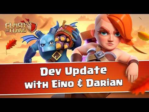 Clash of Clans Dev Update (Autumn Update 2020)