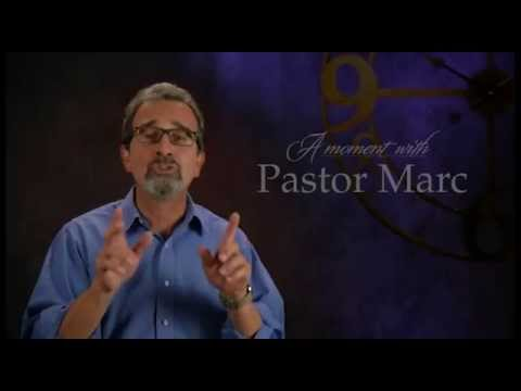 "A Moment with Pastor Marc #29<br /><strong>""Be Still""</strong>"
