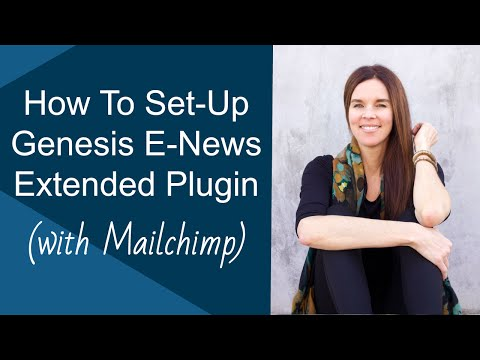 Genesis E-News Extended: How To Add Mailchimp Email Form (Genesis/WordPress)