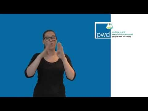 Auslan - Supporting people with disability and others affected by the Royal Commission