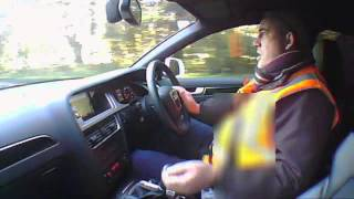 2009 AUDI A4 2.0 S LINE TFSI QUATTRO A ESTATE  Review (Not Top Gear) EXCLUSIVE. - THE UK CAR REVIEWS