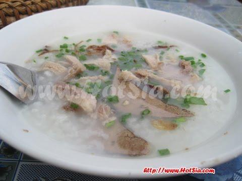 Vientiane morning food(ข้าวเปียกลาว)