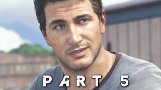 Uncharted 4 A Thief's End Walkthrough Gameplay Part 5 - Hector (PS4)