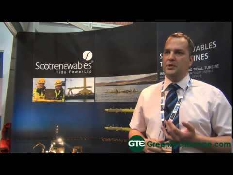 Scotrenewables Tidal Power Ltd Interview: Floatinf tidal turbine