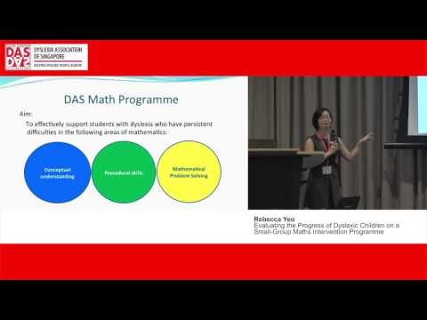 Rebecca Yeo - Evaluating the Progress of Dyslexic Children on a Small Group Maths Intervention