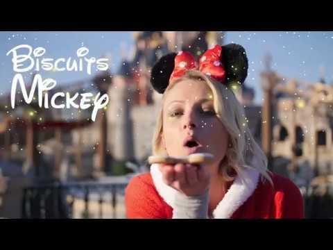 ❅• ROXANE ET LOUANE À DISNEYLAND PARIS   RECETTE DE NOEL BISCUITS MICKEY •❅