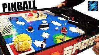 LEGO pinball machine 2!