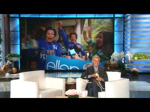 World Series Superfans Get Tickets from Ellen!