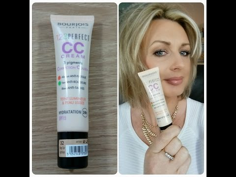 BOURJOIS 123 PERFECT CC CREAM - REVIEW AND DEMO