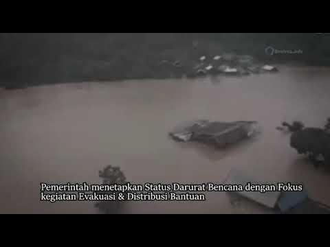 Panglima TNI dan Kapolri Meninjau Korban Banjir di Konawe Utara