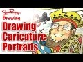 How to Draw Caricature portraits - The Money Tree Part 3