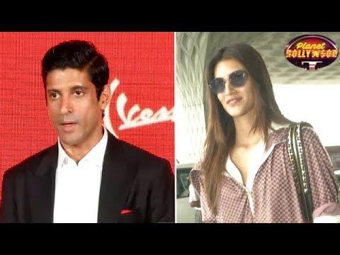 Farhan Akhtar Upset With Kriti Sanon |