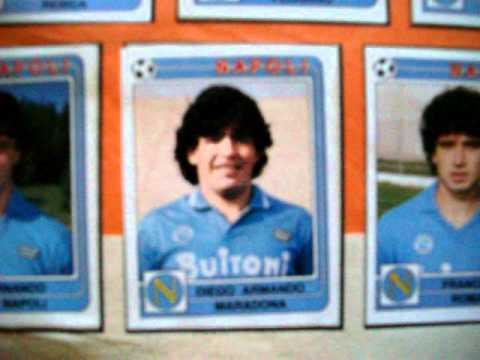 album di figurine calcio panini, stagione 1986-87!