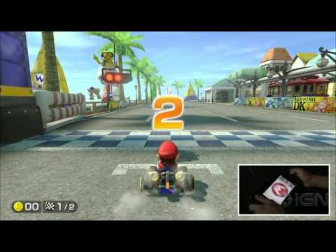 mariocart - From red shells to power ups, we run the course on the new Mario Kart.