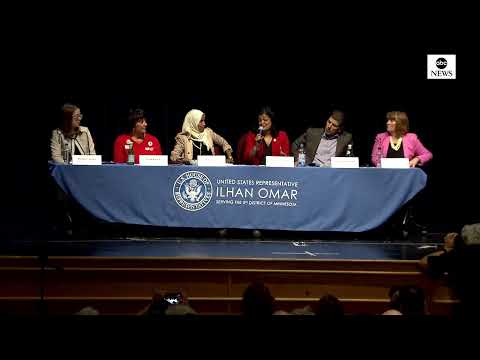 Rep. Omar and Pramila Jayapal host medicare discussion in Minneapolis | ABC News