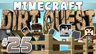 Minecraft - DirtQuest #25 - Pranking Turps (Yogscast Complete Mod Pack)