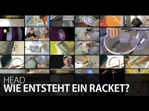 Wie entsteht ein Tennisschläger? Making of Head Tennis Rackets