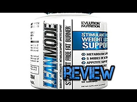 LeanMode Fat Burner by EVLution Nutrition Review