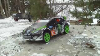 Traxxas Ken Block Rally Car - Winter Driving