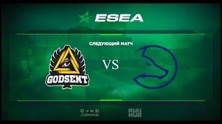 Godsent vs Team LDLC - ESEA Premier - map1 - de_train